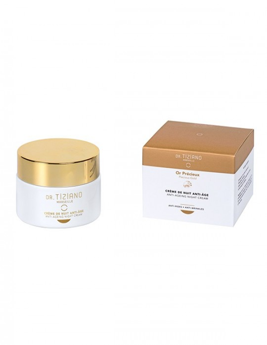 Anti-ageing night cream - Precious Gold